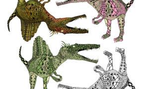 スピノサウルスの実際の色は何色?イラストを描く上で考える