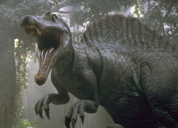 恐竜 スピノサウルス ジュラシックパークから