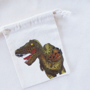 ティラノサウルスの巾着