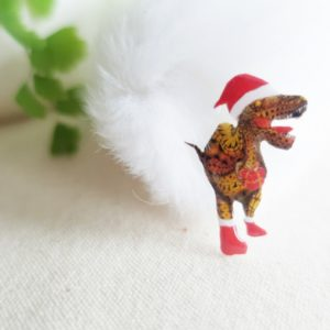 サンタクロース恐竜